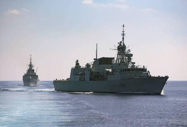 """澳军舰正向南海进发 进行""""印度洋—太平洋奋进2017""""军演"""