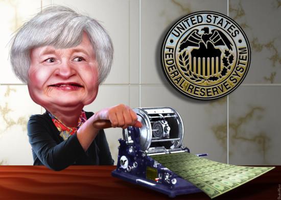 美联储10月开始缩表:基金利率不变 美元急升黄金暴跌