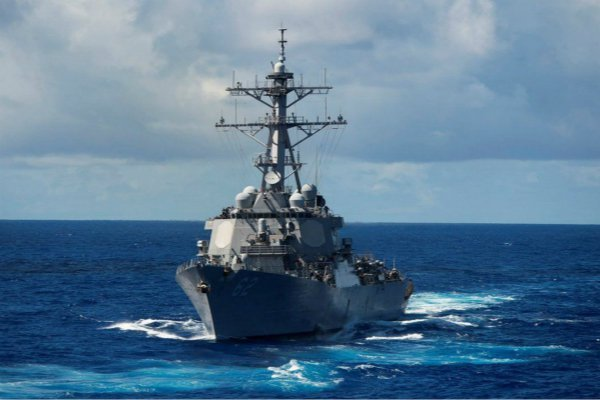 美国菜当局回应感谢重视 评估台美军舰互访严重挑战一中红线