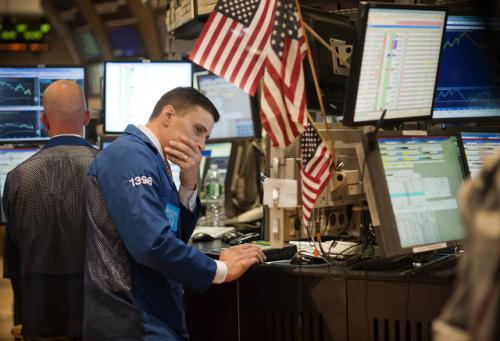 美股周四全线下跌 道指结束9连涨走势