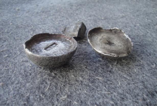 古代纹银怎么变成碎银?都是牙咬的?