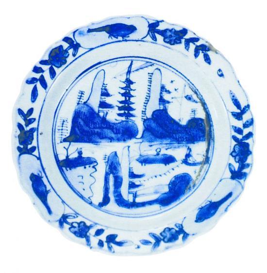 克拉克瓷器上的《口岸图》 外商眼里的中国印象