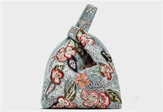 倾心打造 ZARA推出全新中国刺绣系列包包