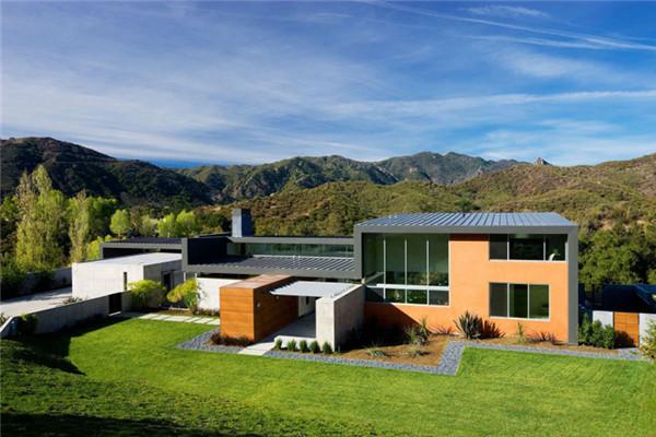 卡拉巴萨斯Lima豪宅:充分利用周围不间断自然景观