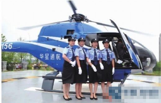 长沙县公安局首次开启私人直升机警航巡逻