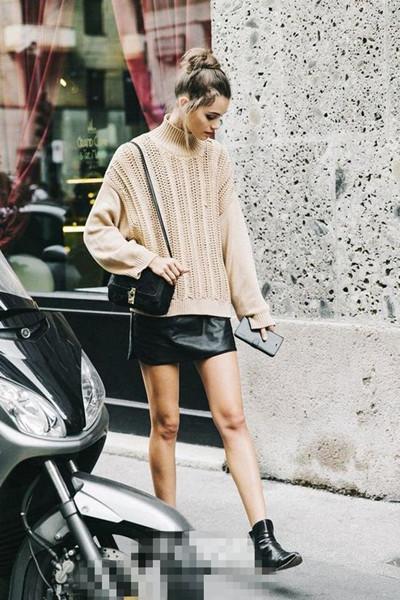 早秋穿衣搭配技巧示范 时髦精才不会抛弃短袖短裤