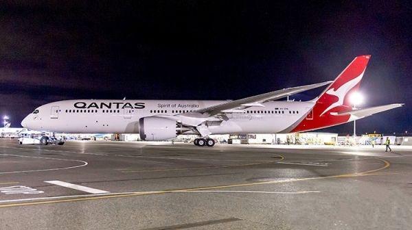 澳洲航空首架波音787-9完成喷漆并将于国内航线提供服务