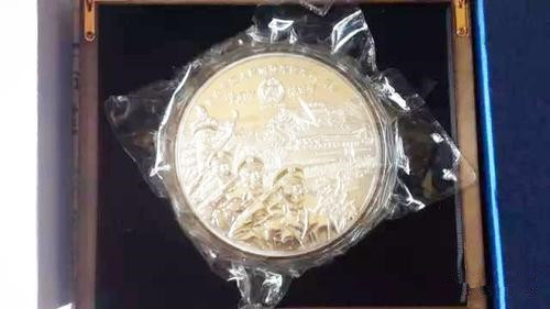银质纪念章竟不含白银 这是什么情况?