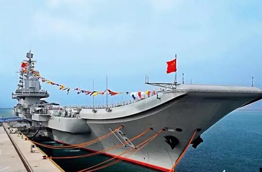 中国航母辽宁舰服役满5年