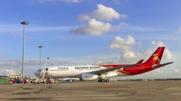 深圳航空引进首架空中客车A330型私人飞机