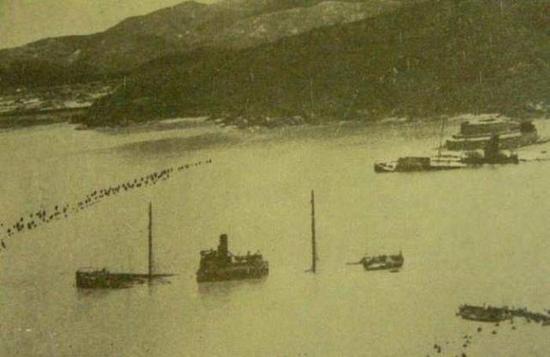 80年前悲壮一幕 中国海军以惨烈的牺牲掩护淞沪70万陆军的脊背!