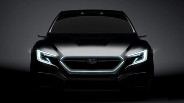 斯巴鲁名车品牌发布VIZIV Peformance Concept概念车官图