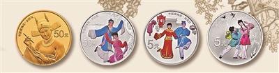 中国戏曲艺术(黄梅戏)金银纪念币发行在即 轻量化特征显著