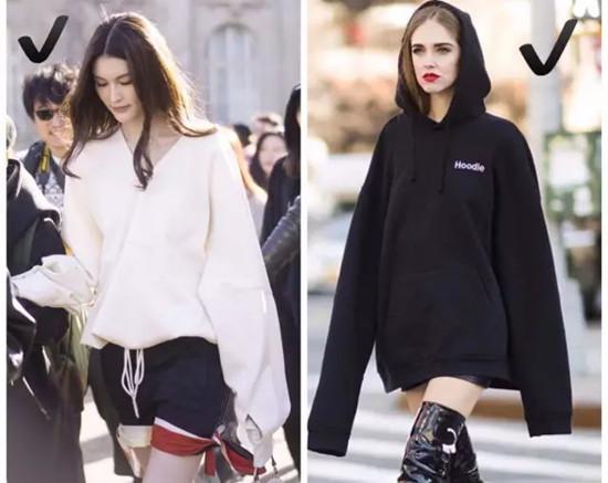 欧美服装流行趋势示范 秋季穿好oversized就对了