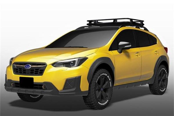 斯巴鲁名车品牌发布两款款概念车官图 东京车展正式发布