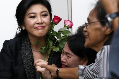 泰总理称已知英拉在何处 大米渎职案今日宣判