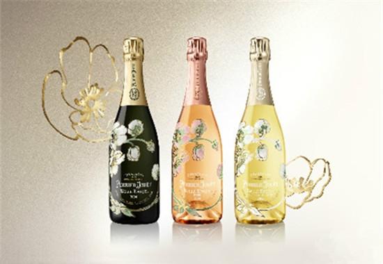 """巴黎之名酒品牌推出去向您""""光影""""限量版白中白香槟"""