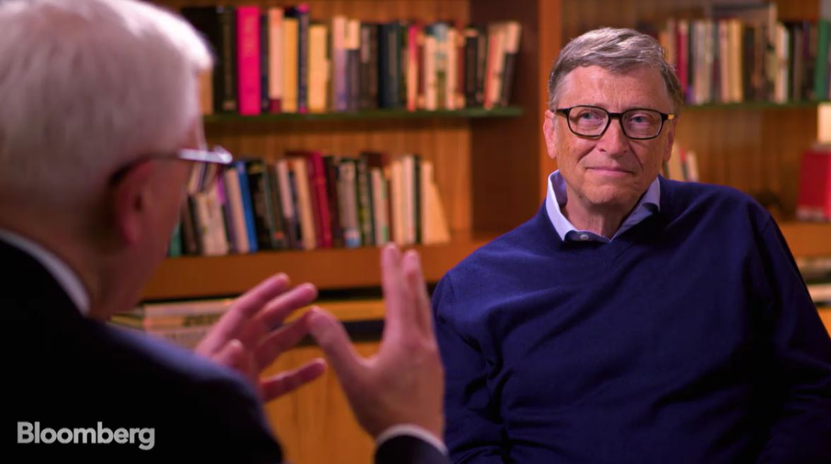 比尔盖茨换用安卓手机 对苹果说no