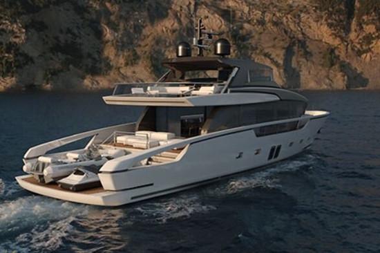 大胆创新 La Spezia全新27米SX88豪华游艇亮相戛纳