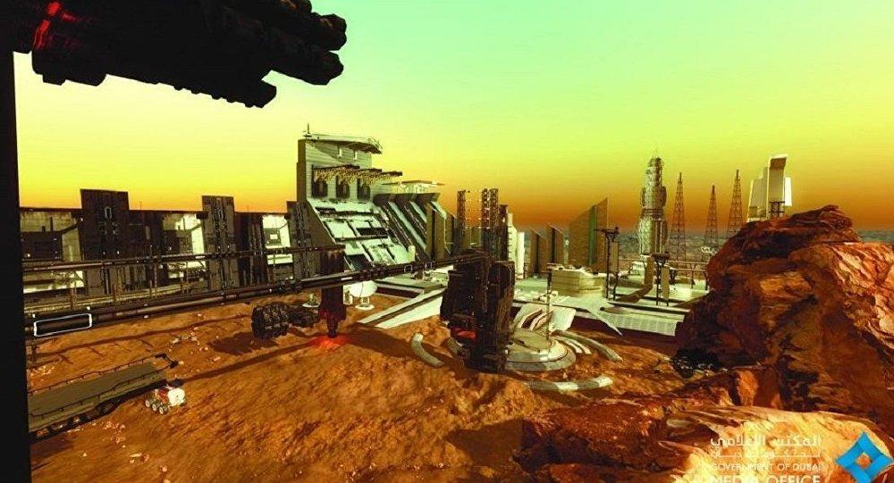 迪拜将建火星城区 总面积达17万平米造价1.36亿美元