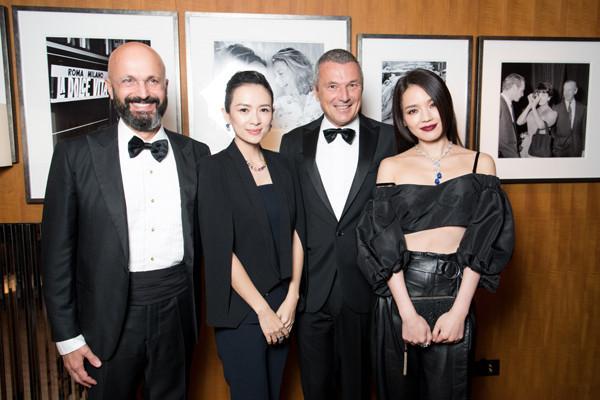 中国首家宝格丽酒店携手章子怡于北京正式开业