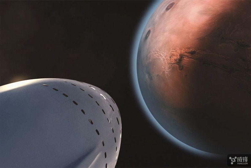 2024年送人上火星 在火星上建立基地和移民城市
