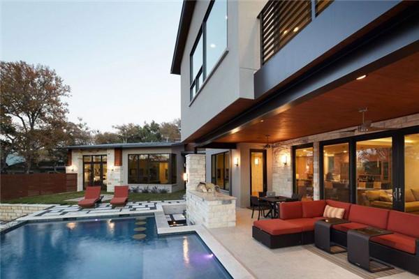 德州Ridgewood豪宅:在广阔环境中展现自己的魅力