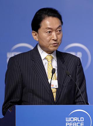 日本前首相静坐 引众多市民围观