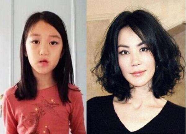 网友德国偶遇王菲 带着女儿李嫣出现在一家商城