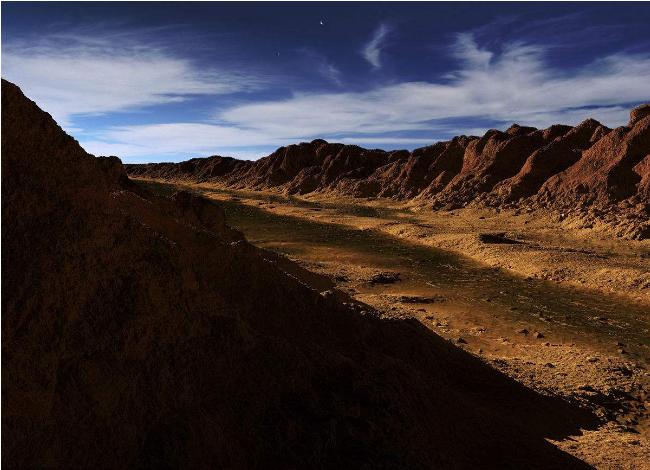 火星现35亿年河流 火星的水哪儿去了?
