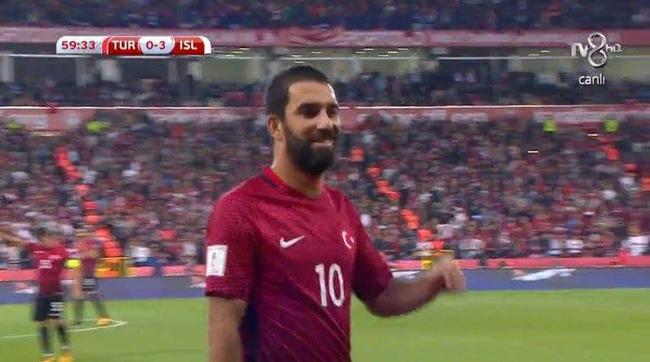 巴萨大将惹国家队大怒 土耳其0-3不敌冰岛