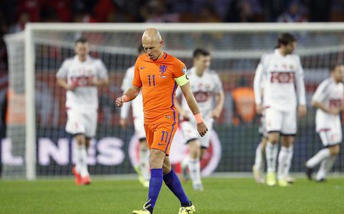 荷兰人才凋零 世界杯难再见飞侠