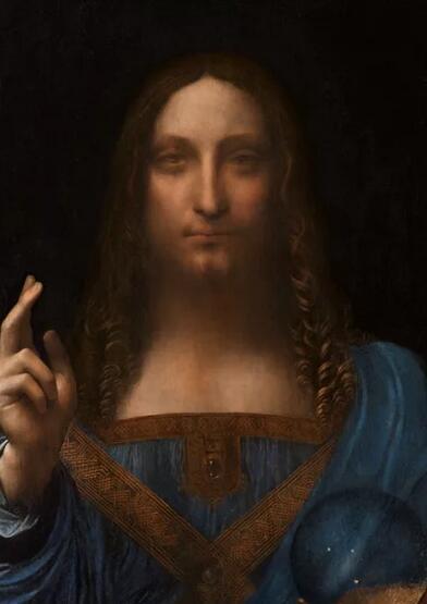 达芬奇《救世主》 佳士得估价约为1亿美元