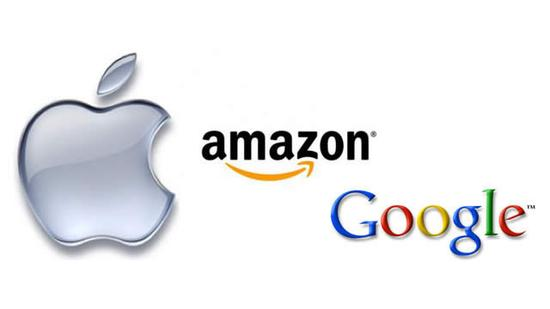 万亿市值谁会最先突破? 苹果、谷歌与阿里竞相角逐
