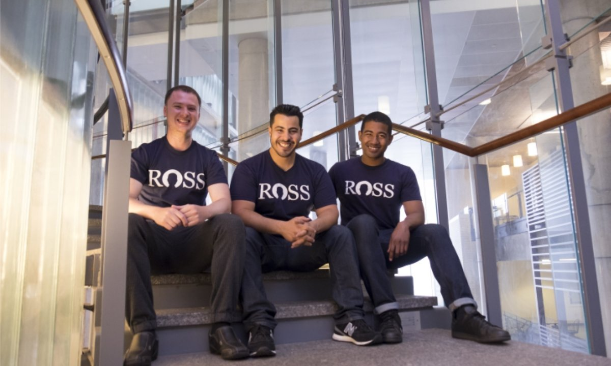 AI法务创企ROSS获870万美元融资 iNovia Capital领