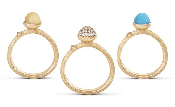 丹麦珠宝商Ole Lynggaard Copenhage推出Lotus系列宝石戒指