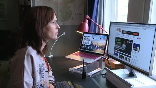 荷兰美女汉学家 创办网站让西方人更好地了解中国