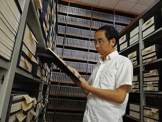 十年整理古籍线装书68万册 抢救性保护民间家谱6万册