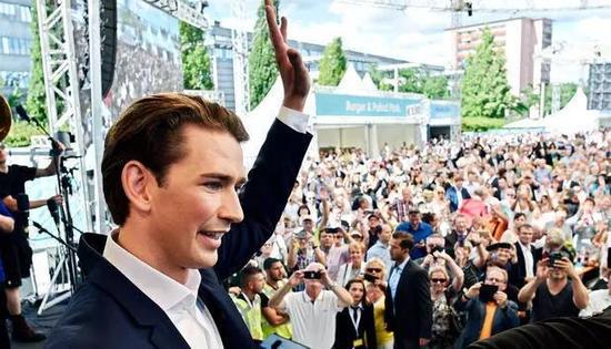 欧洲政坛又一小鲜肉崛起 31岁库尔茨向奥地利总理位置发起最后冲刺