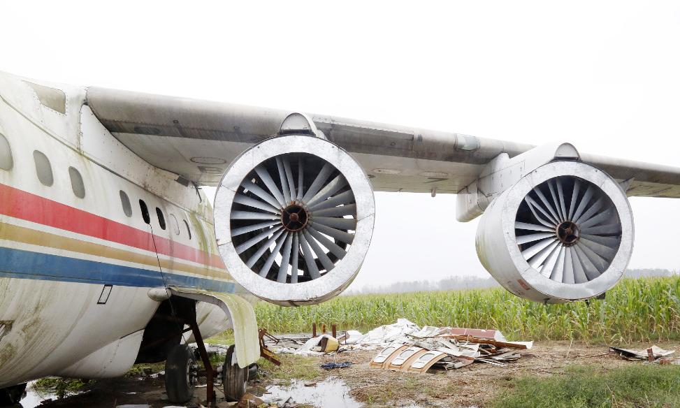 当地村民称,飞机已经在此停放一年多,正在进行内部拆除装修,未来将改造成酒店和特色餐厅。