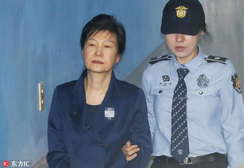 朴槿惠迎命运之日 将公布是否延期拘捕朴槿惠