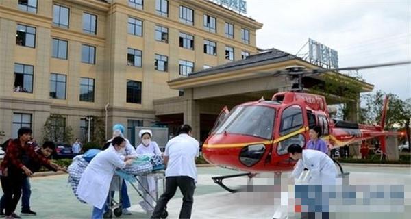 新昌开通空中生命通道 私人直升机将病人运送杭州