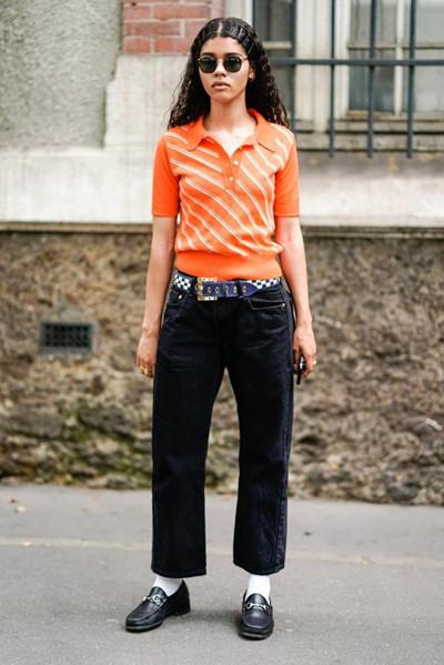 万圣节还不知道怎么穿衣搭配 黑色+橙色就足够了