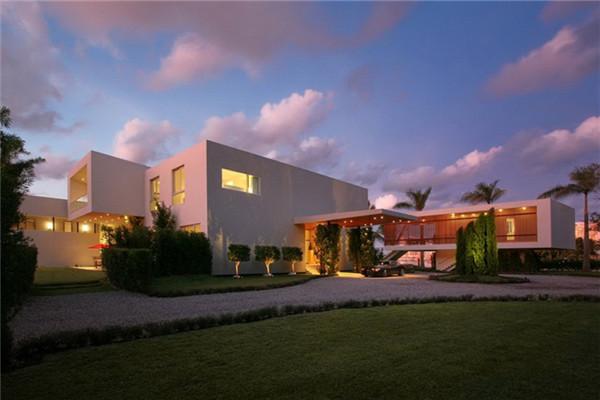 La Gorce豪宅:巨大体量定义不同风格局部结构