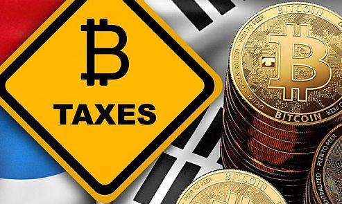 """比特币惊现""""蹦床""""?韩国拟对比特币征税"""