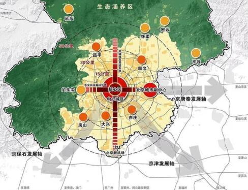 从北京城市新规划 看未来京北中轴价值居所