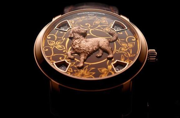 限量十二枚 江诗丹顿推出两款全新狗年腕表