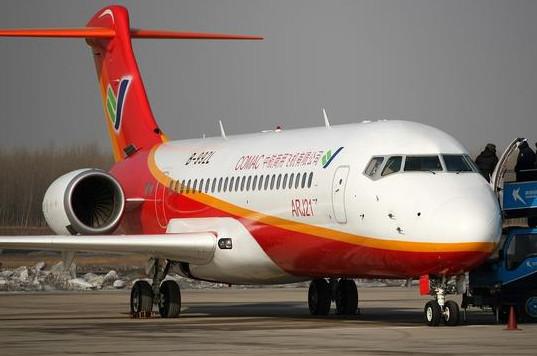 国产飞机ARJ21试飞成功 5天8架次高原验证飞行顺利完成