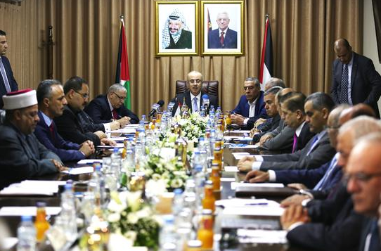 巴勒斯坦宣布在加沙重组政府机构