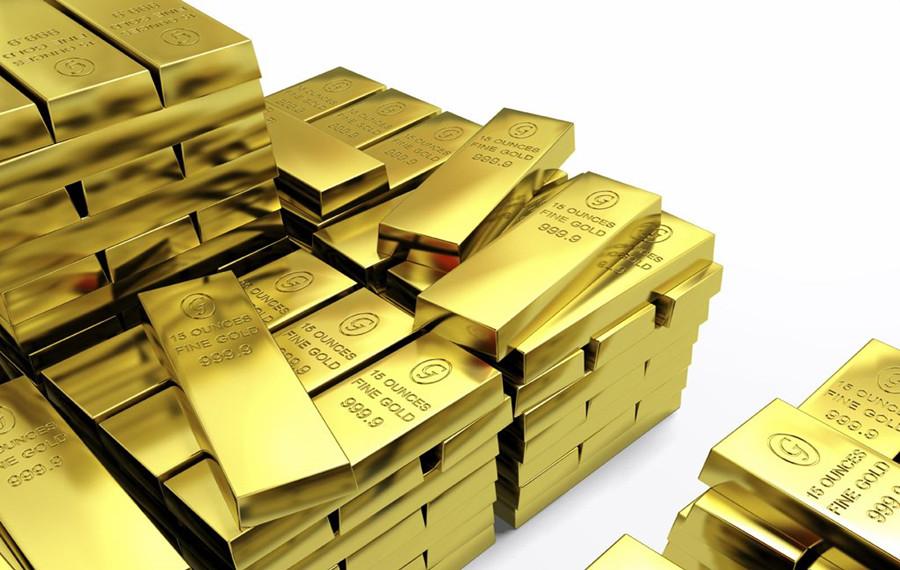 现货黄金交易多头完美布局